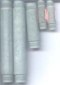 vulcanized fiber tube cut